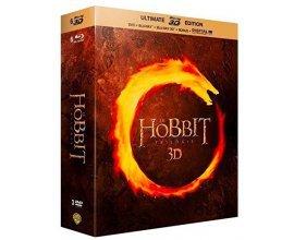Amazon: Le Hobbit - La trilogie [Ultimate Blu-ray 3D Edition + Blu-ray + DVD + Digital UltraViolet] à 13,99€