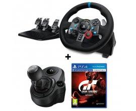 Cdiscount: Volant de Course Logitech G29 + Pédales + Levier de Vitesse + jeu PS4 Gran Turismo Sport à 249,99€