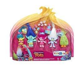 ToysRUs: Pack de 5 figurines Trolls 12.5cm à 14,99€ au lieu de 29,99€