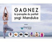 Elle: 11 panoplies de yoga Manduka de Tayrona Yoga à gagner