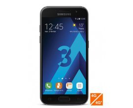 Sosh: Smartphone Samsung Galaxy A3 2017 noir à 239€ au lieu de 269€