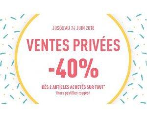 DIM: [Ventes privées] -40% dès 2 articles achetés