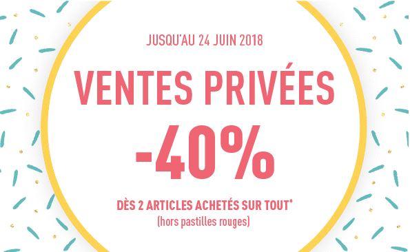 Code promo DIM : [Ventes privées] -40% dès 2 articles achetés