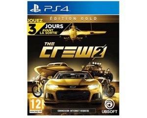 jeu ps4 the crew 2 edition gold 89 99 au lieu de 99 99 amazon. Black Bedroom Furniture Sets. Home Design Ideas