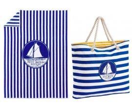 Petit Bateau: 1 serviette de bain ou un sac de plage au prix réduit de 9,90€ au lieu de 30€ dès 49€ d'achat