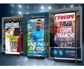 SFR: L'offre de contenus SFR Presse à 5€ par mois au lieu de 10€