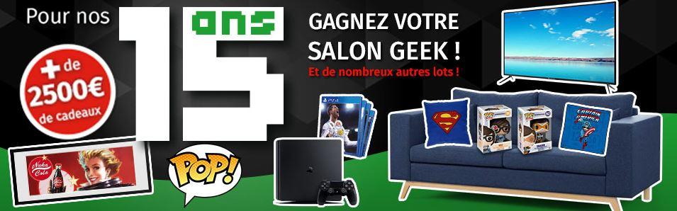 Code promo Gamecash : Une télévision, des consoles de jeux et de nombreux autres cadeaux à gagner