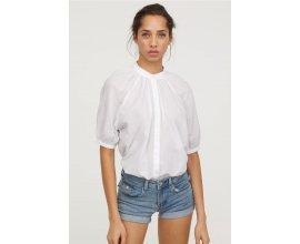 H&M: Mini short en jean 5 poches en dénim lavé détails usés d'une valeur de 7,99€ au lieu de 19,99€