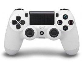 Zavvi: Manette de jeu - SONY Playstation 4 Dualshock 4 Glacier White, à 46,99€ au lieu de 69,59€