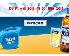 Pastis Duval: A gagner 1000 lots de verres et carafes