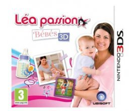 Maxi Toys: Jeu Nintendo 3DS Léa Passion Bébés 3D à 8,98€ au lieu de 14,96€