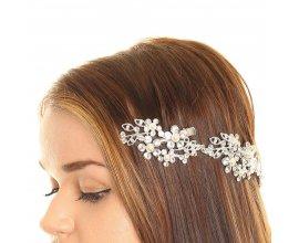 Claire's: Accessoire pour cheveux à fleurs en strass à 11,89€ au lieu de 16,99€