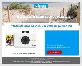 Le Parisien: Un Pack Polaroid numérique à gagner
