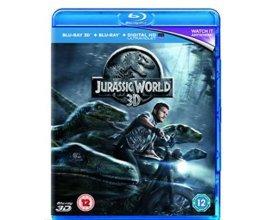 Base.com: BluRay 3D + BluRay - Jurassic World, à 5,19€ au lieu de 28,86€