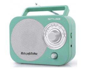 Conforama: Radio portable analogique Muse M055RG vert à 19,70€ au lieu de 24,99€