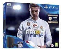 La Redoute: Console PS4 - SONY PS4 500 Go Noire + Fifa 18, à 299,99€ au lieu de 329,99€