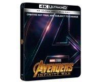 Zavvi: [Précommande] Steelbook 4K UHD (+2D) - Avengers: Infinity War à 37,99€ au lieu de 45,25€
