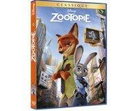Cultura: DVD - Zootopie, 3 à 30€ au lieu de 44,97€