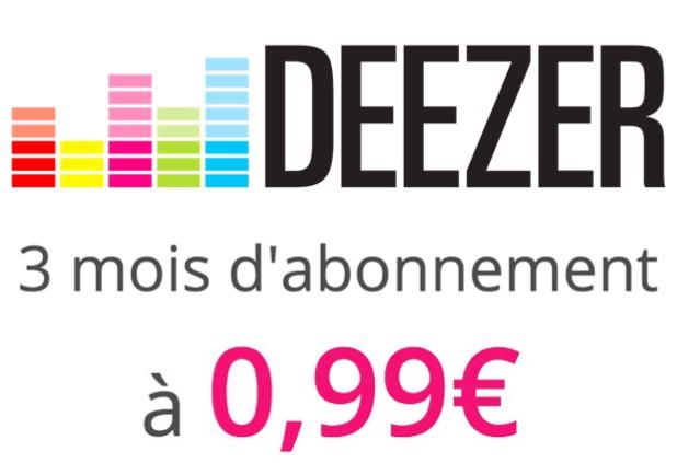 Code promo Vente Privée : 3 mois d'abonnement Deezer Premium à 0,99€ au lieu de 29,97€