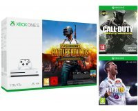 Boulanger: Xbox One S 1To + PUBG ou Rocket League ou Forza H3 + FIFA18 + CoD Infinite Warfare à 229€