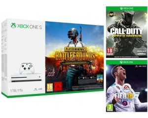 Boulanger: Xbox One S 1To + PUBG ou Rocket League ou Forza H3 + FIFA18 + CoD Infinite Warfare à 229€