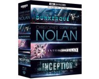Amazon: Coffret Christopher Nolan 3 Films : Dunkerque / Interstellar / Inception en Blu-Ray 4K à 44,99€