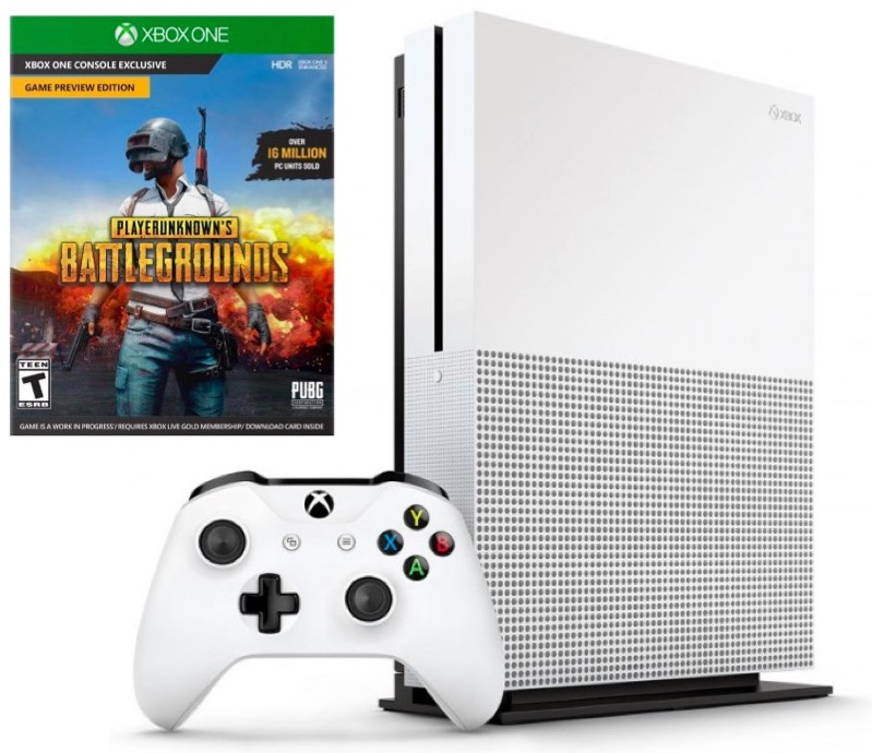 Code promo Micromania : Console Xbox One S 500 Go seule à 179,99€ au lieu de 279,99€