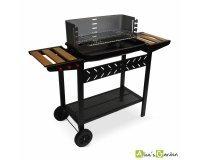 eBay: Barbecue charbon Alfred noir et gris cuve emaillee à 89,90€ au lieu de 119,90€