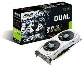 Rue du Commerce: Carte Graphique Gaming - ASUS GeForce DUAL-GTX1060-O6G, à 329,99€ au lieu de 349,99€