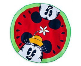shopDisney: Serviette de plage ronde mickey et minnie