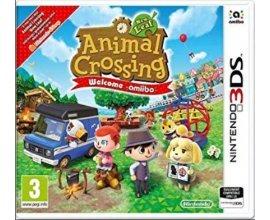 Micromania: Jeu NINTENDO 3DS - Animal Crossing New Leaf Welcome Amiibo + 1 Carte 3DS + Porte-cartes Offert