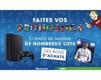 Micromania: Une PS4 et des jeux PS4 à gagner