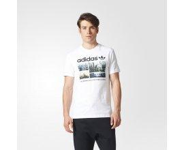Adidas: Hommes Originals T-Shirt photo windy greetings à 20,96€ au lieu de 29,95€