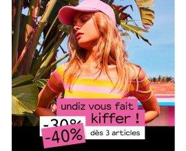 Undiz: 30% de réduction sur la sélection #UndizFamily ou -40% dès 3 articles achetés