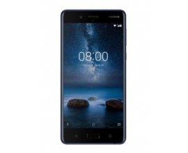 eGlobal Central: Smartphone - NOKIA 8 Dual Sim Bleu brillant, à 287,99€ au lieu de 599,99€