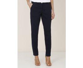 Kookaï : Pantalon droit femme 2 poches italiennes bleu marine au prix de 55,30€ au lieu de 79€