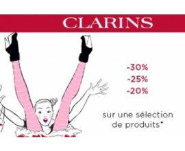 Clarins: Jusqu'à 30% de réduction sur une sélection de produits