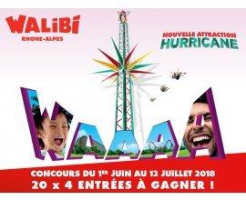 Familiscope: 80 entrées pour le parc Walibi à gagner