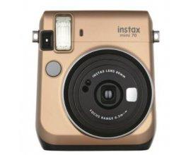 Fnac: Appareil Photo Instantané - FUJIFILM Instax Mini 70 Or, à 99,99€ au lieu de 119,99€