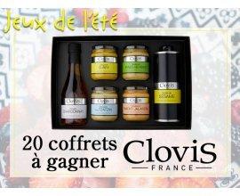 Cuisine Actuelle: 20 coffrets Clovis (4 moutarde,1 huile et 1 vinaigre) à gagner