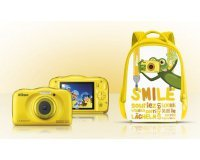 Nikon: Appareil Photo - NIKON COOLPIX W100 Jaune + Sac à dos, à 139€ au lieu de 169€