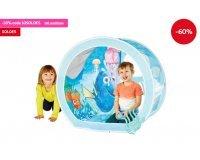 """Auchan: Tente jeu de rôle """"Aquarium"""" Le Monde de Dory avec balles en soldes à 15,99€"""