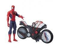 Amazon: La moto de Spider-Man et sa figurine articulée de 30 cm à 9,64€