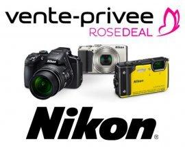 Vente Privée: [Rosedeal] Payez 50€ le bon d'achat Nikon de 100€, 100€ pour 200€ ou 150€ pour 300€