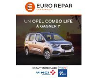 Euro Repar: A gagner une OPEL COMBO LIFE 5 places - 1.5 Diesel 100ch