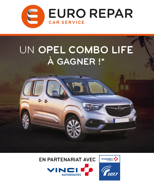 Code promo Euro Repar : A gagner une OPEL COMBO LIFE 5 places - 1.5 Diesel 100ch