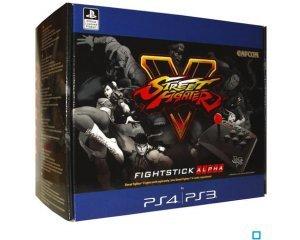 Auchan: Manette PS4 - Arcade Fightstick Alpha Street Fighter V à 24,99€ au lieu de 59,99€