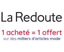 La Redoute: 1 article mode soldé acheté = 1 article mode offert sur plus de 4000 articles