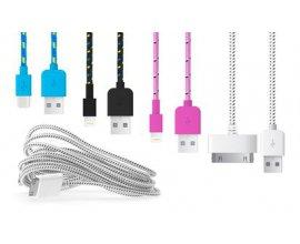 Groupon: Câble tressé de chargement pour smartphone et tablette à 2,99e au lieu de 14,95€