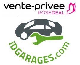 Vente Privée: [Rosedeal] Payez 25€ le bon d'achat IDGARAGES de 50€, 50€ pour 100€ ou 75€ pour 150€